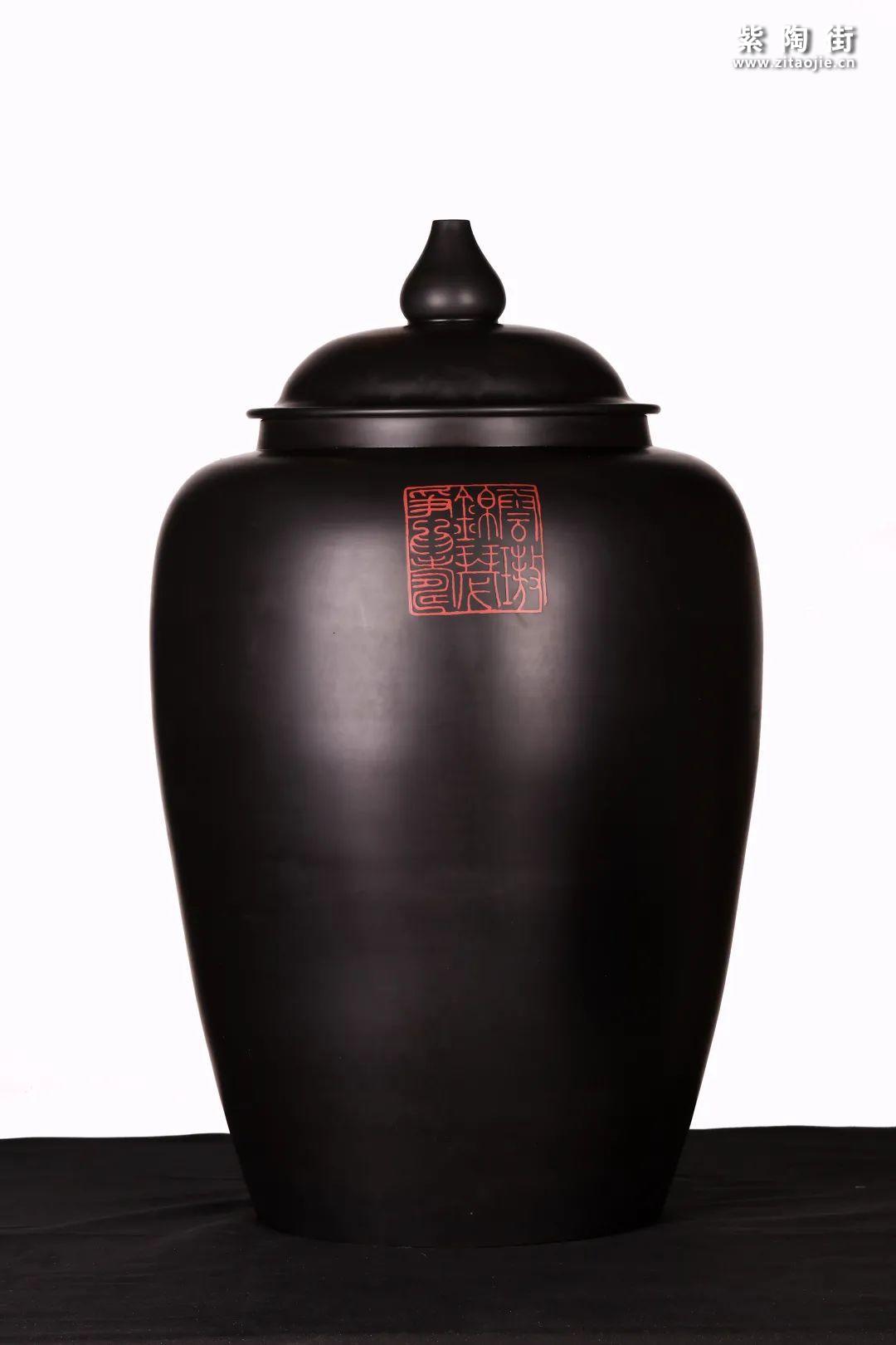 建水紫陶精品茶缸雅赏插图5