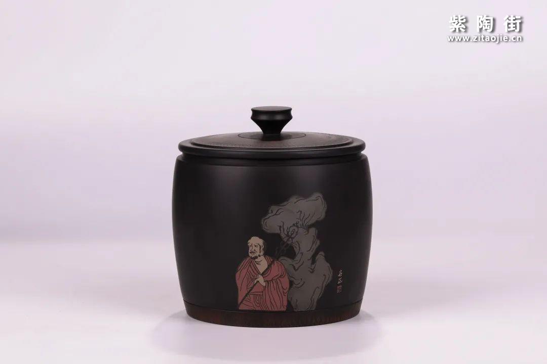 建水紫陶醒茶罐插图13