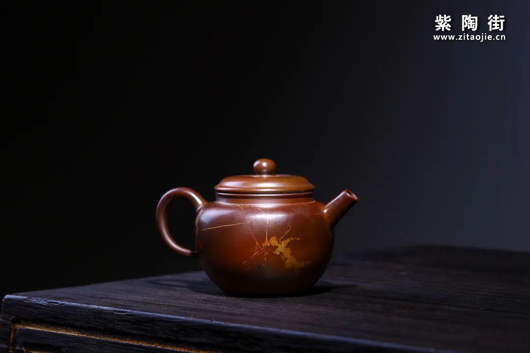 建水紫陶小品壶欣赏插图4