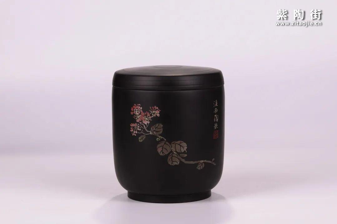 建水紫陶醒茶罐插图16