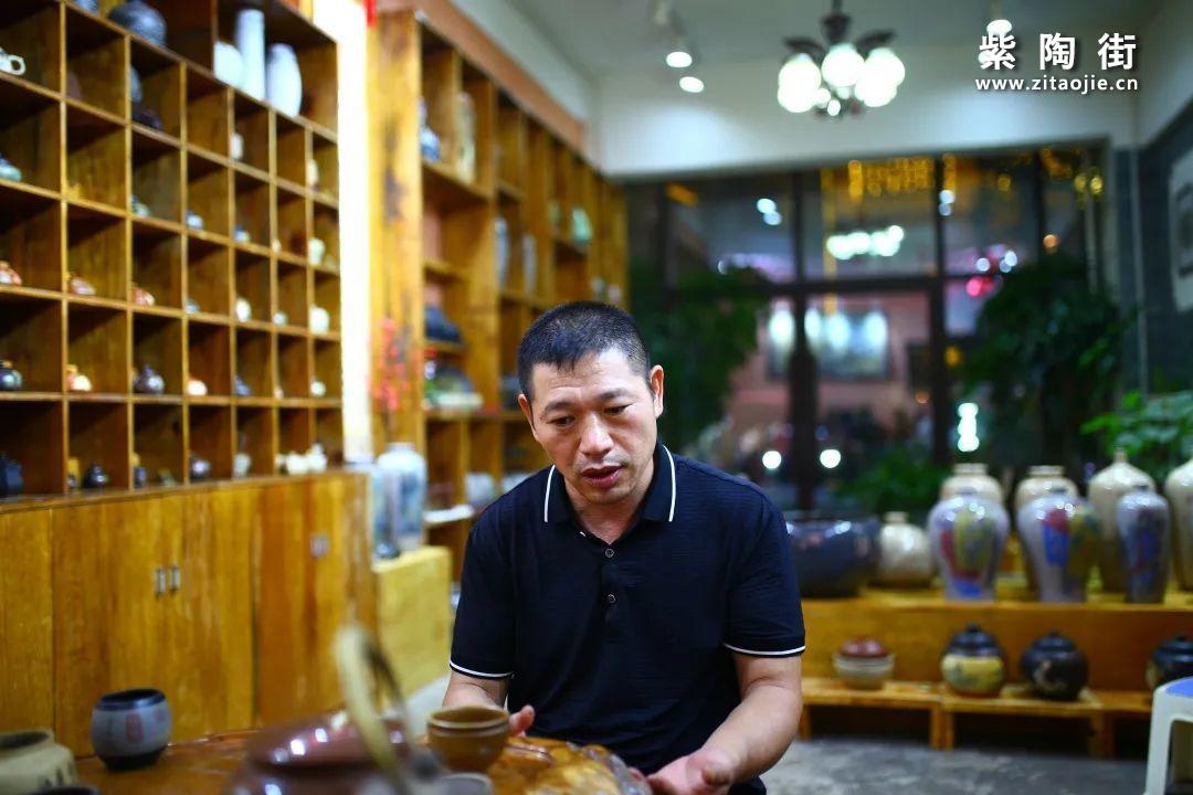 云南省陶瓷工艺大师廖建忠-紫陶街