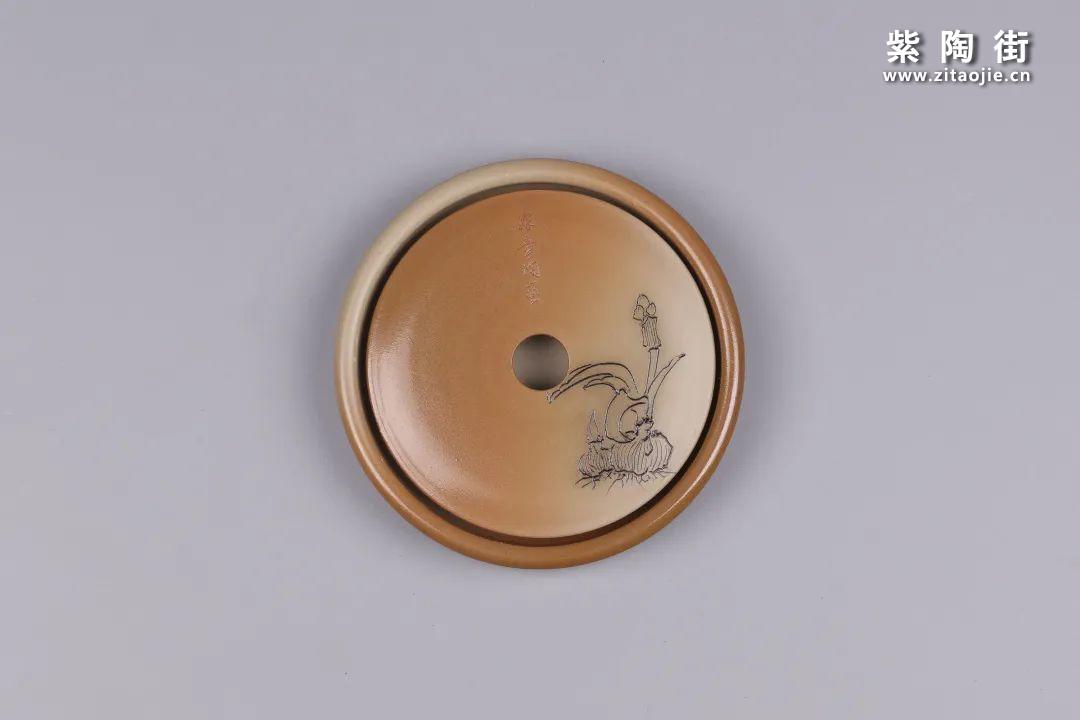 建水紫陶干泡盘插图45