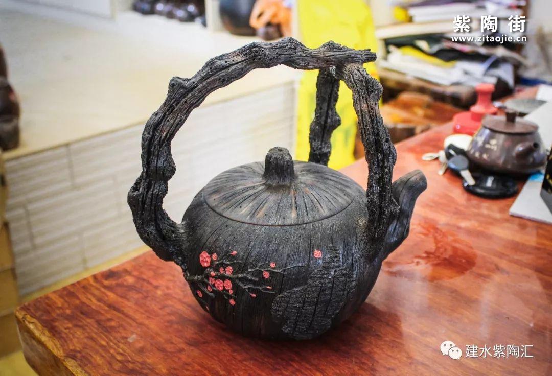建水余兴林简介及陶泥轩紫陶作品欣赏插图9