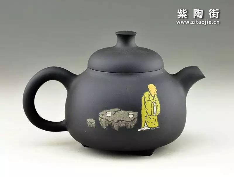 王志伟紫陶壶插图2