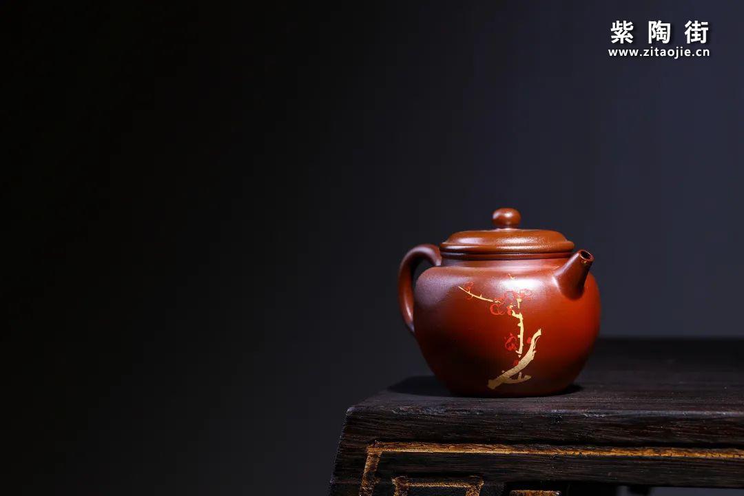 建水紫陶小品壶欣赏插图1