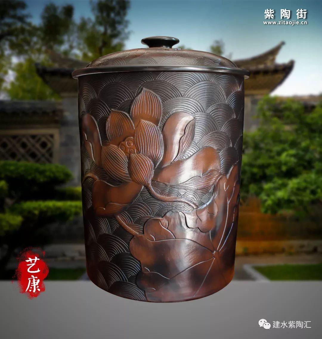 建水艺康陶艺介绍及紫陶作品欣赏-紫陶街