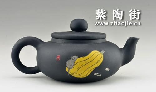 金秋赏壶-王志伟紫陶工作室出品插图3