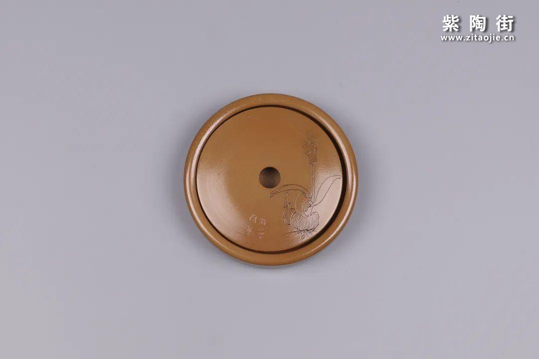 建水紫陶干泡盘插图80