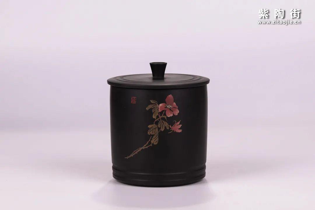 建水紫陶醒茶罐插图12