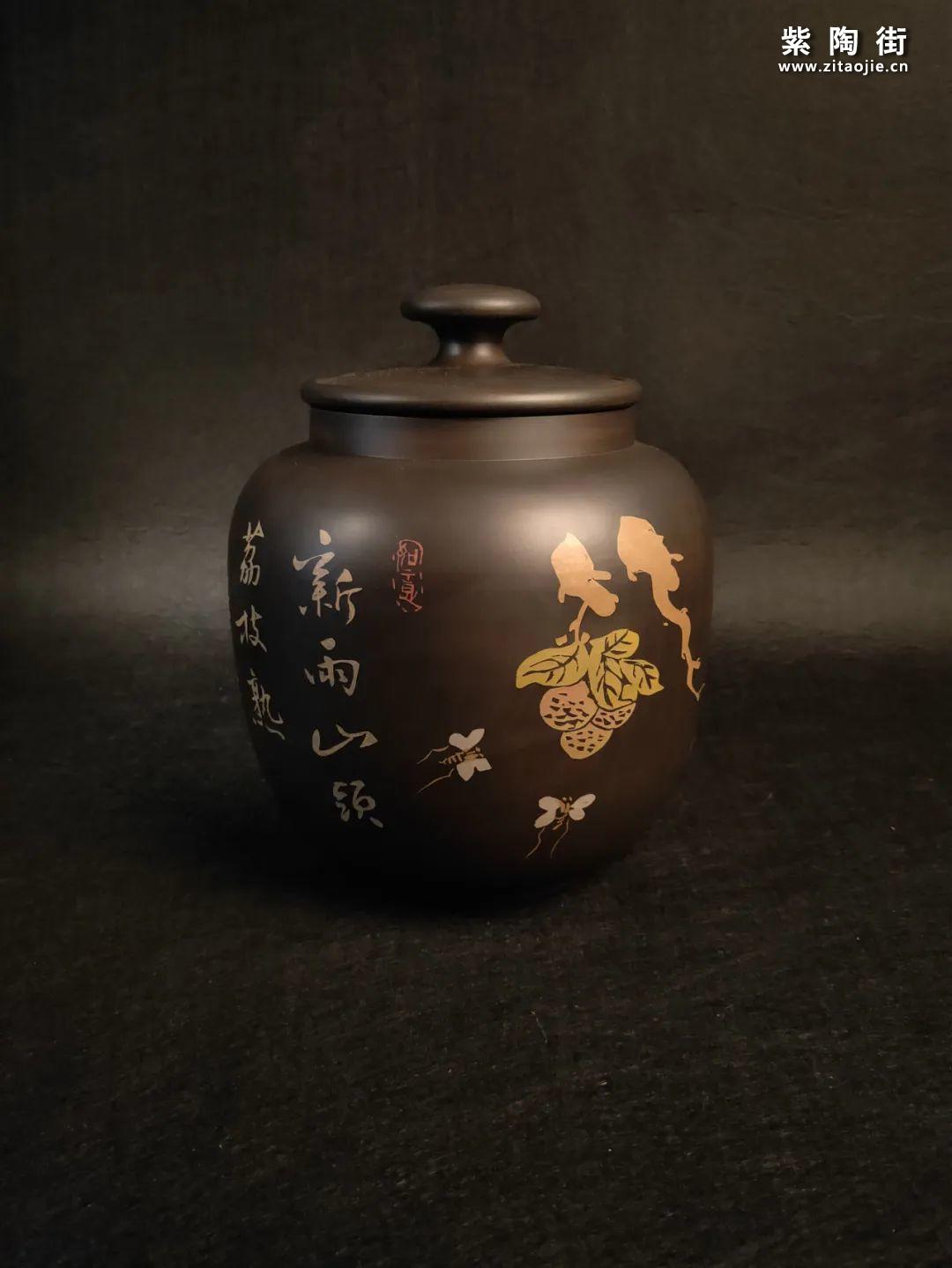 紫陶醒茶罐 • 普洱茶的好搭档-紫陶街