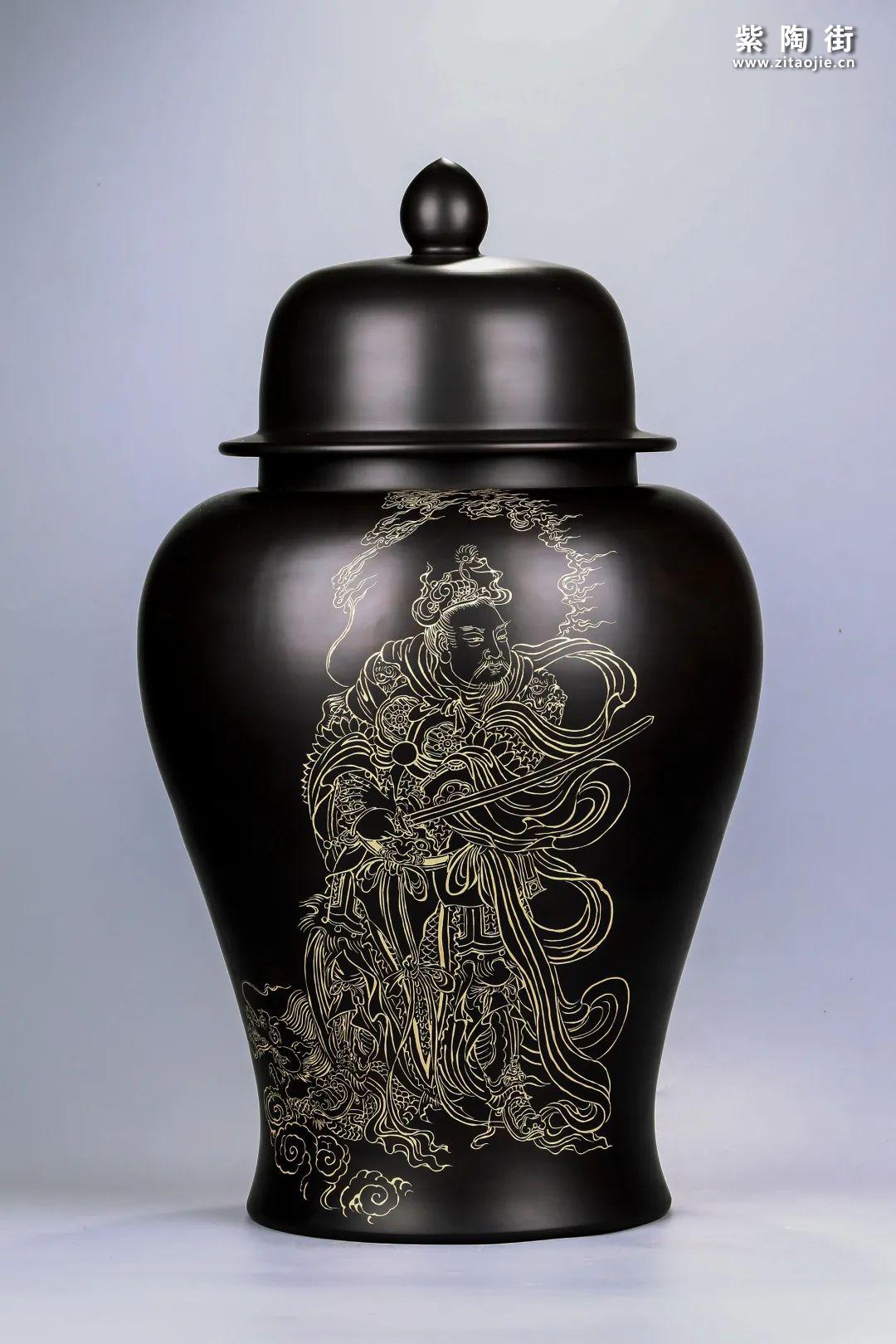 建水紫陶将军罐欣赏插图16