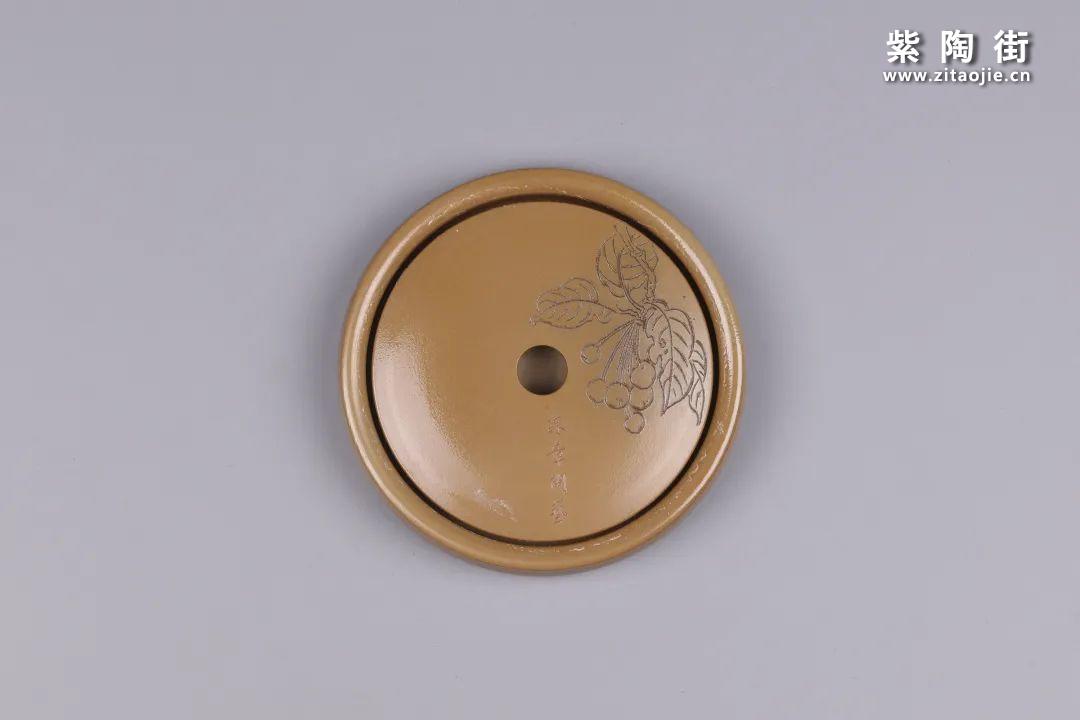 建水紫陶干泡盘插图56
