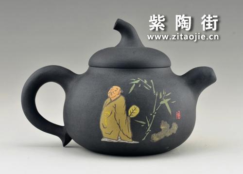 金秋赏壶-王志伟紫陶工作室出品插图23