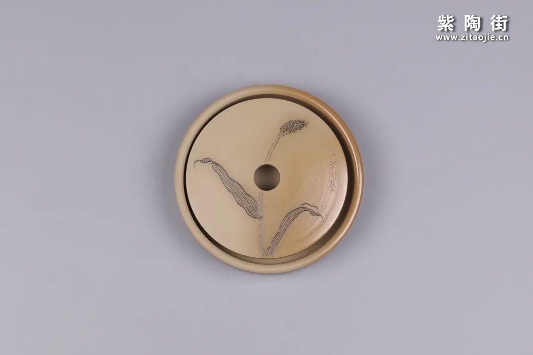 建水紫陶干泡盘插图31