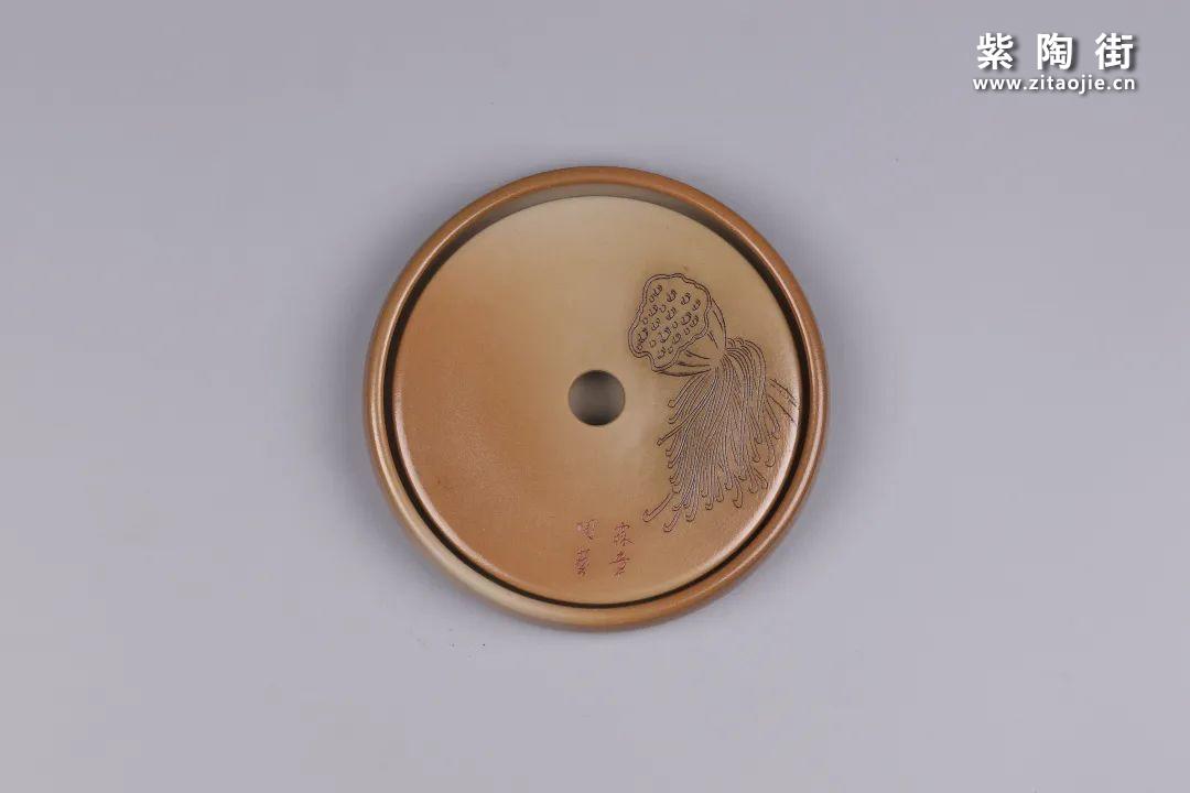 建水紫陶干泡盘插图119