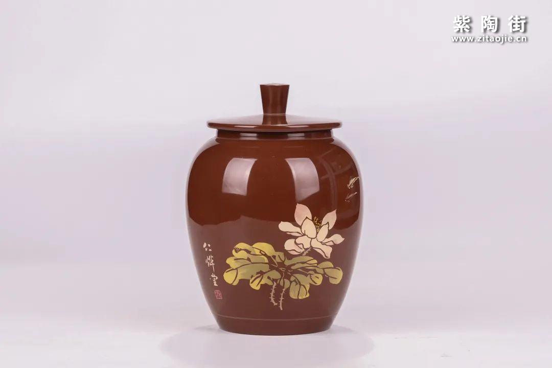建水紫陶醒茶罐插图20