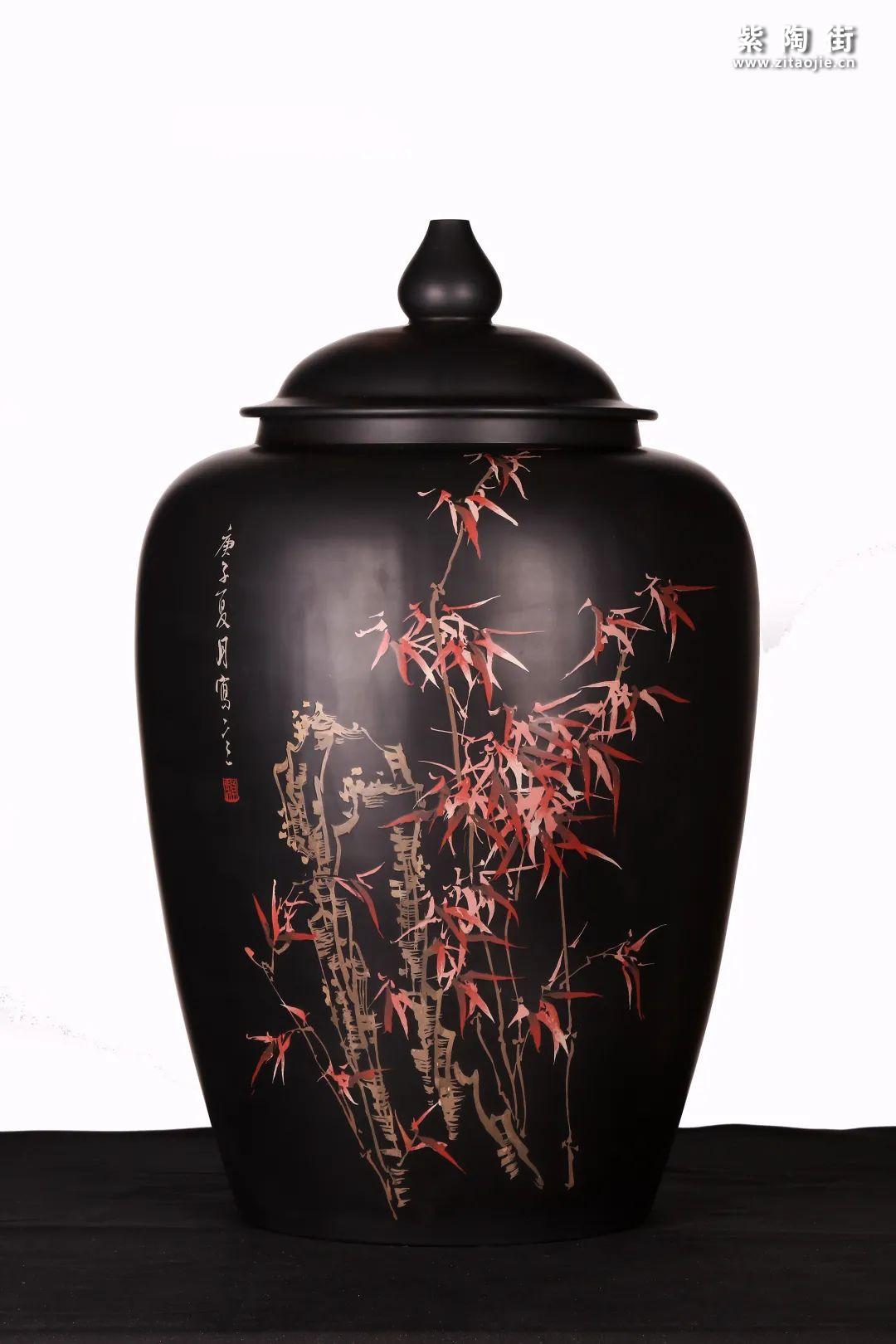建水紫陶精品茶缸雅赏插图23