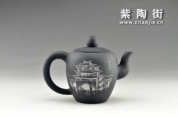 赏壶-王志伟紫陶工作室出品插图25