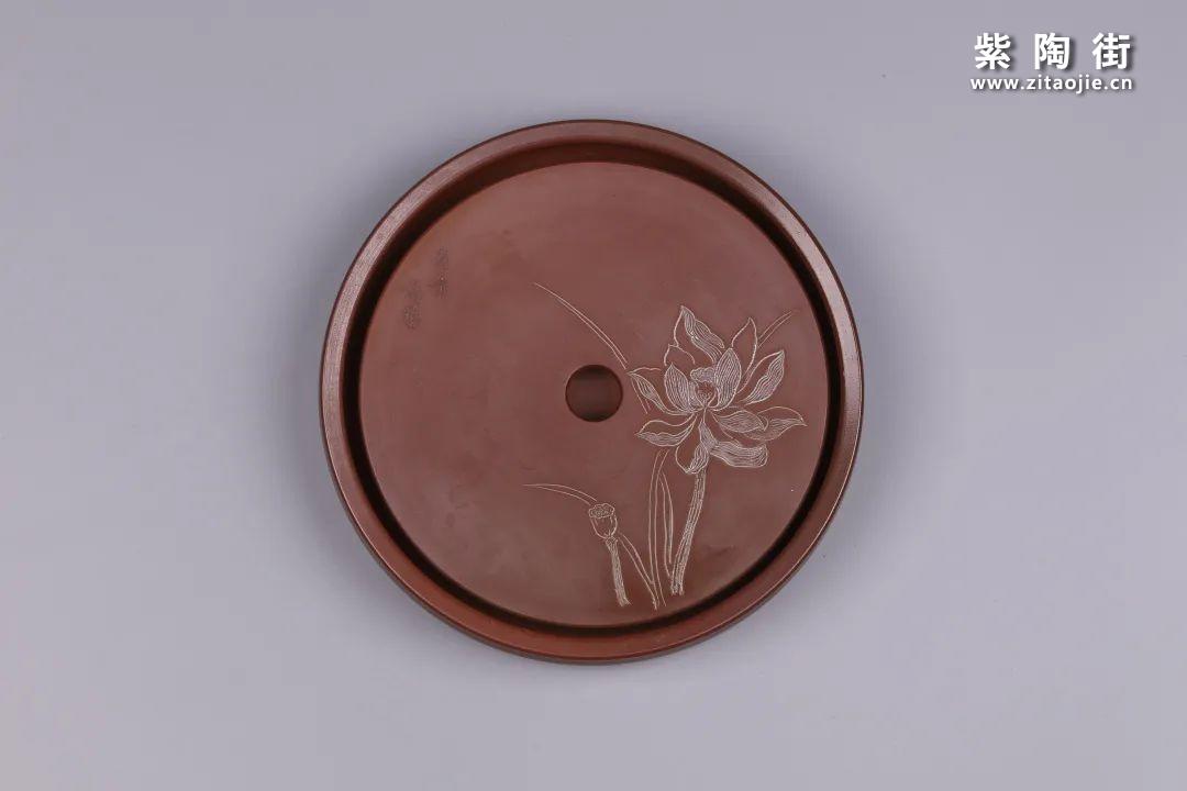 建水紫陶干泡盘插图21