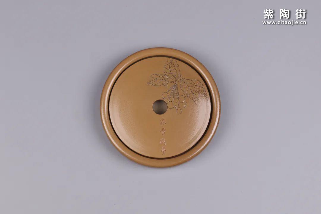 建水紫陶干泡盘插图57