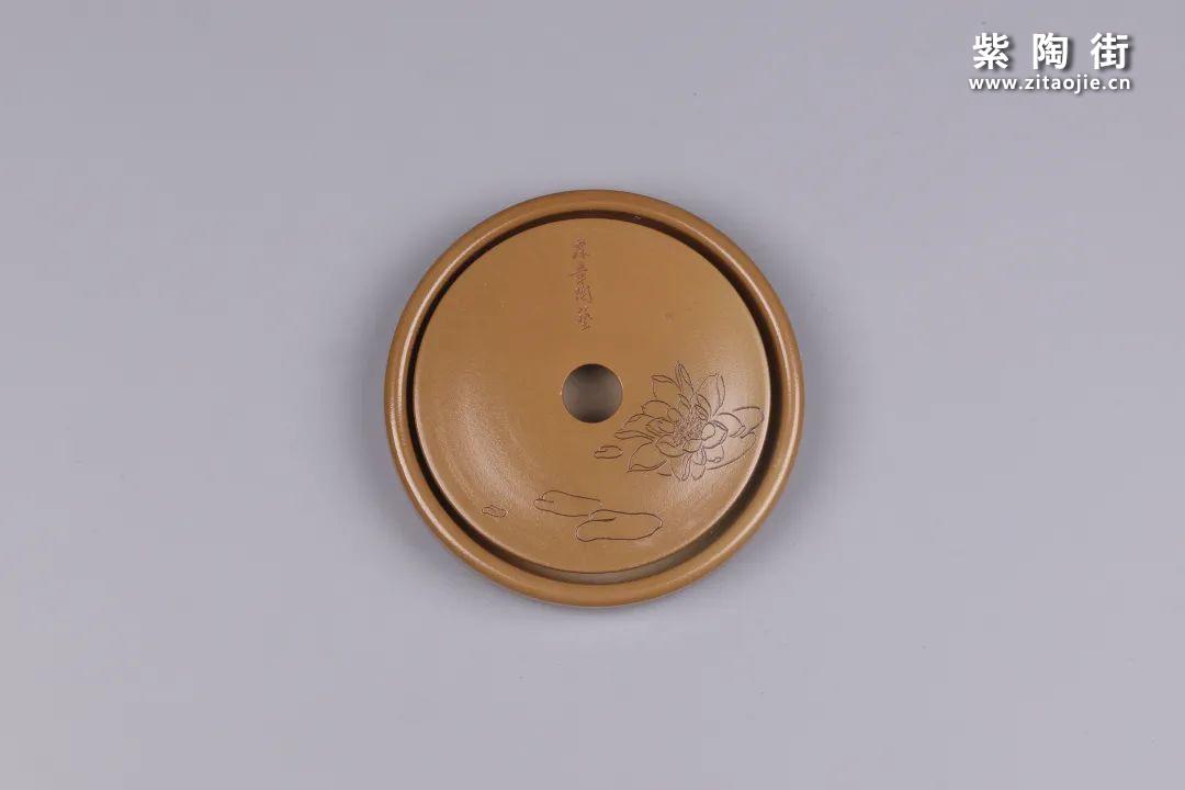 建水紫陶干泡盘插图30