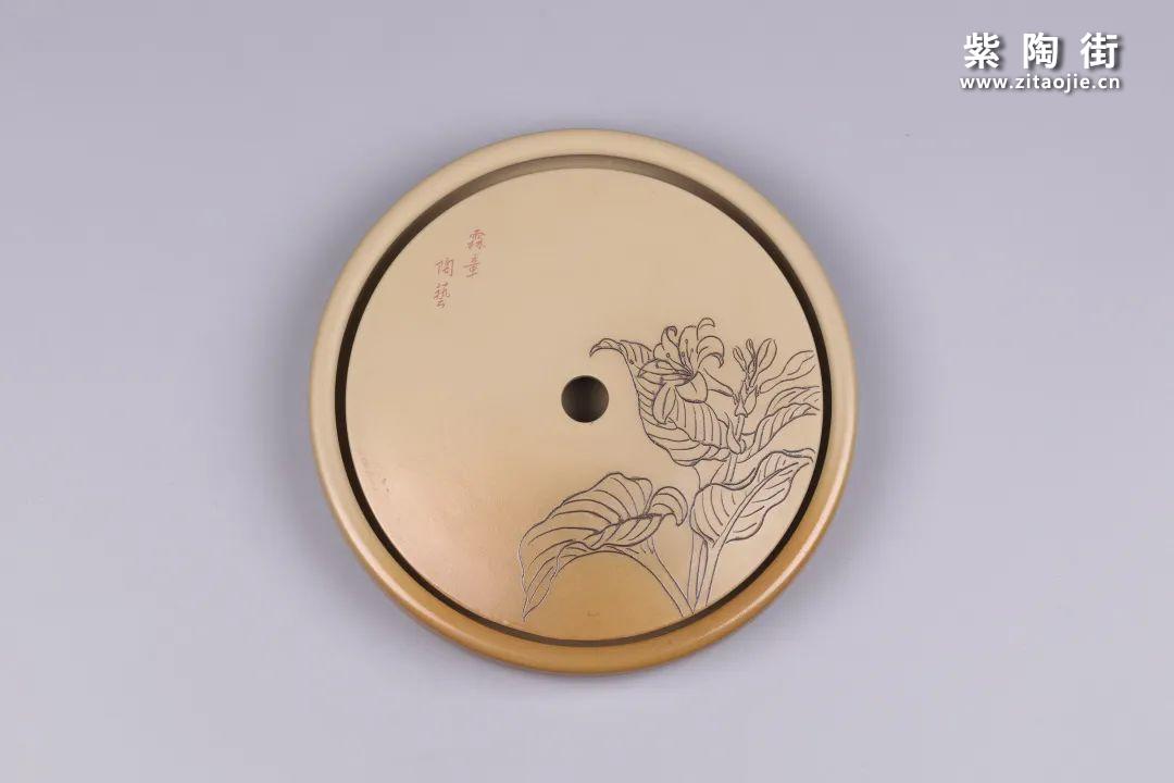 建水紫陶干泡盘插图14