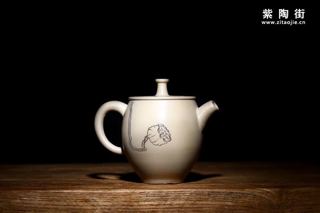 建水紫陶白泥壶怎么养?插图24
