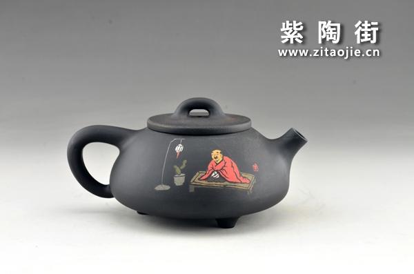 赏壶-王志伟紫陶工作室出品插图11