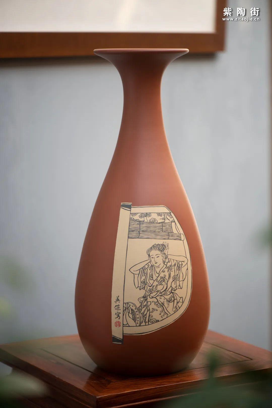 建水紫陶羊肝红是什么样子的插图4