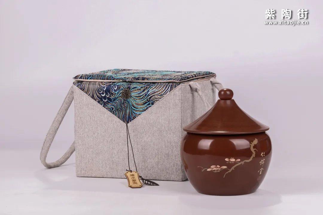 建水紫陶醒茶罐插图31