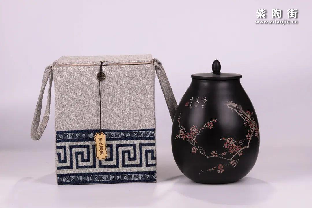 建水紫陶醒茶罐插图30