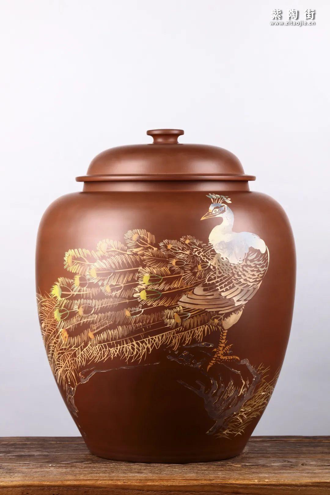建水紫陶存普洱茶插图17