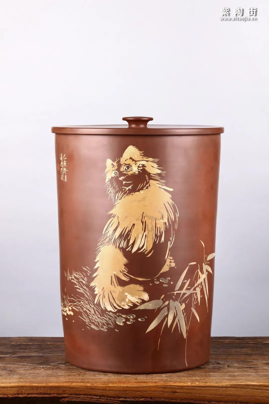 建水紫陶存普洱茶插图27