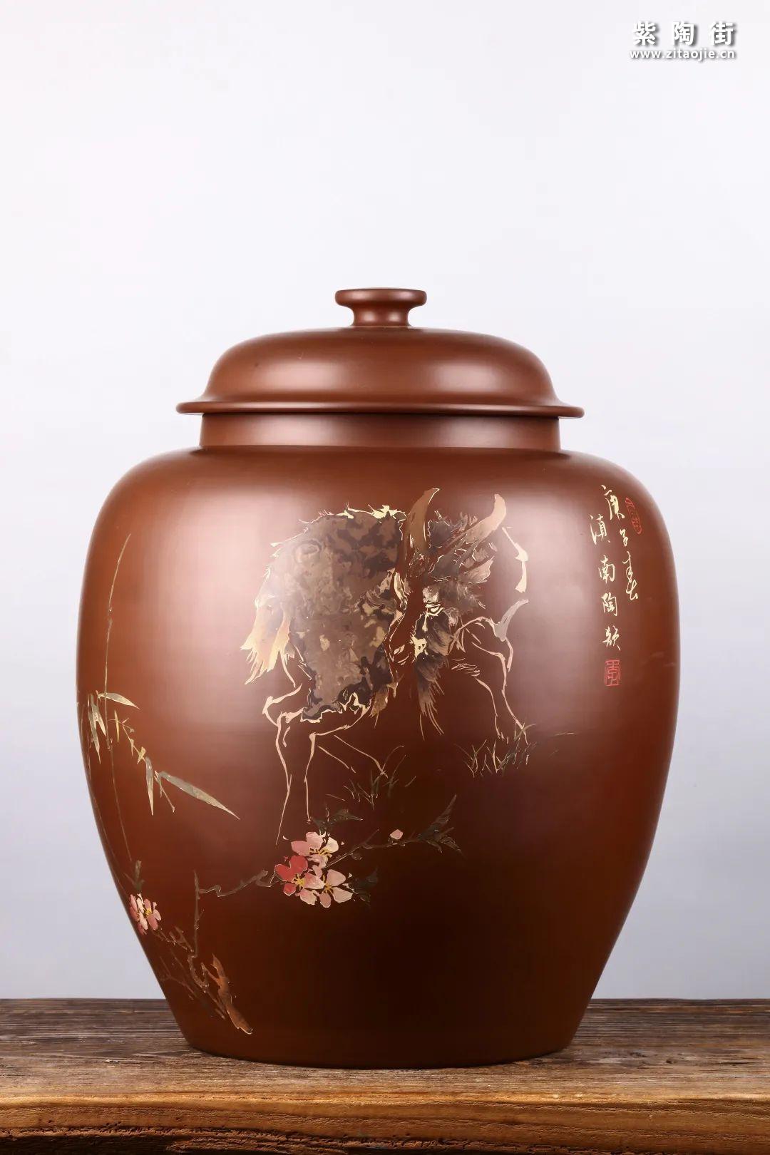 建水紫陶存普洱茶插图22