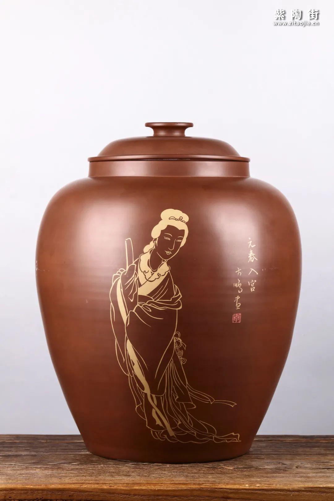 建水紫陶存普洱茶插图7