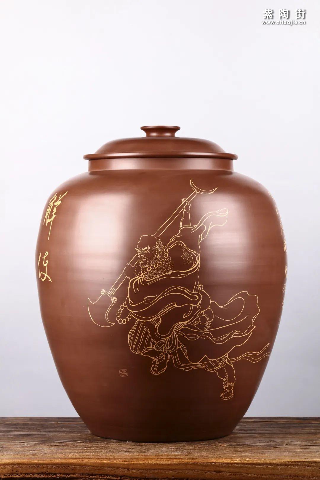 建水紫陶存普洱茶插图14