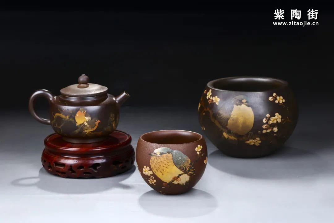普忠华建水紫陶作品展-紫陶街