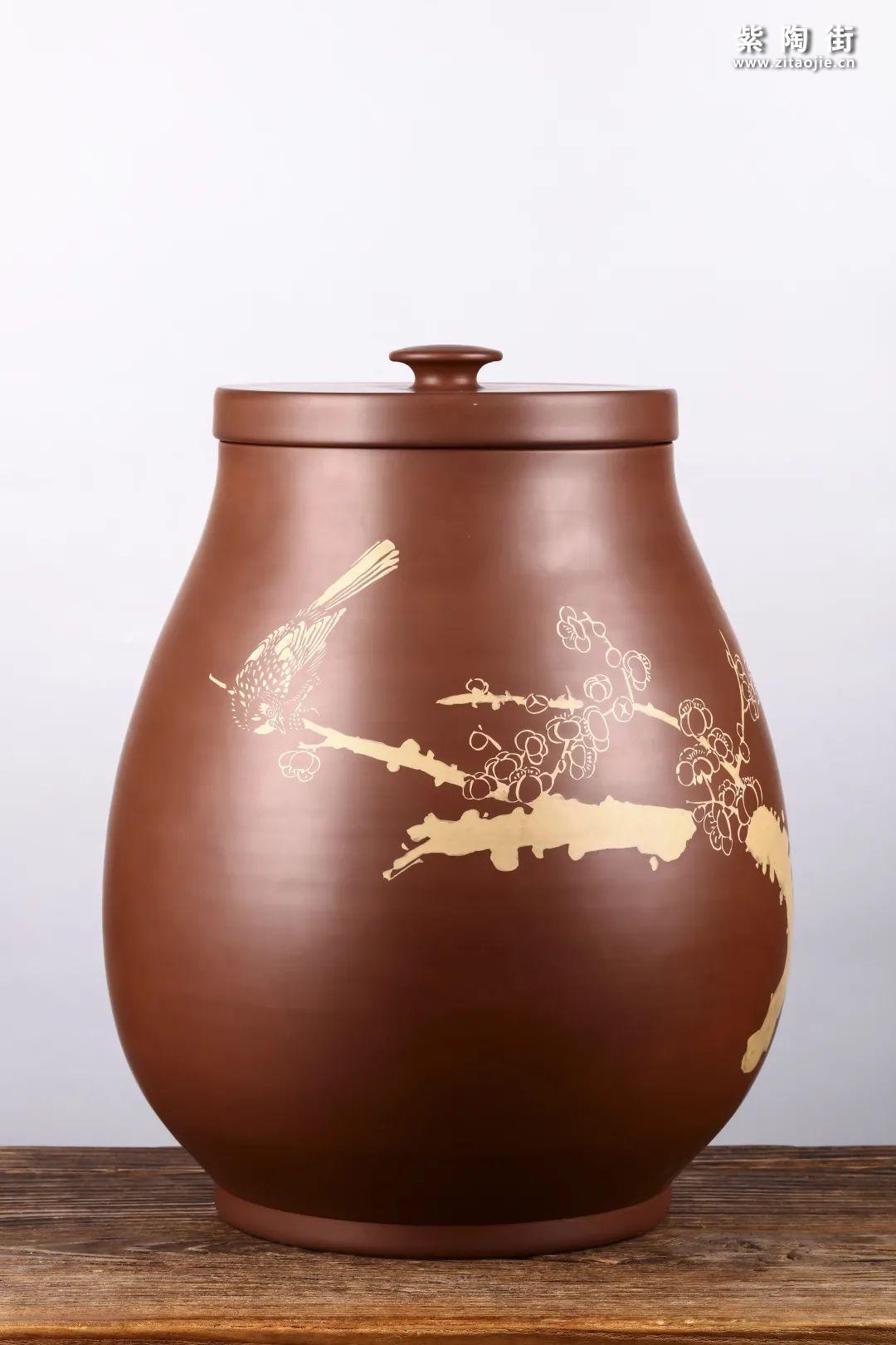 建水紫陶存普洱茶插图12
