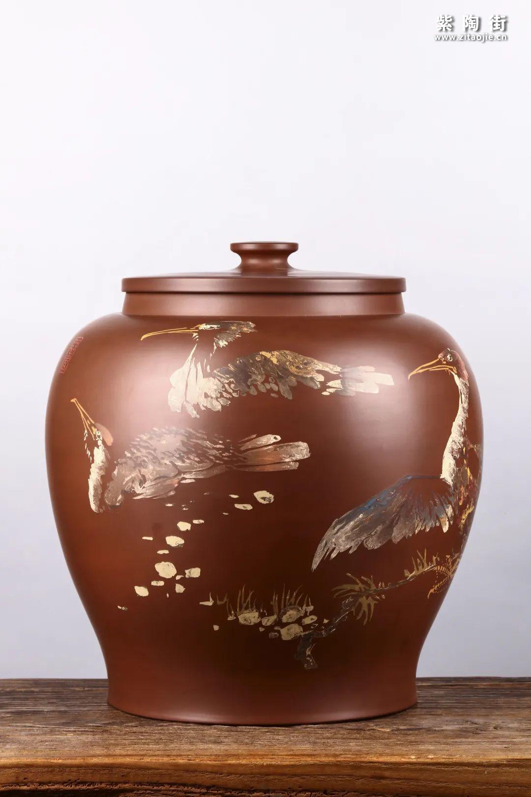 建水紫陶存普洱茶插图16