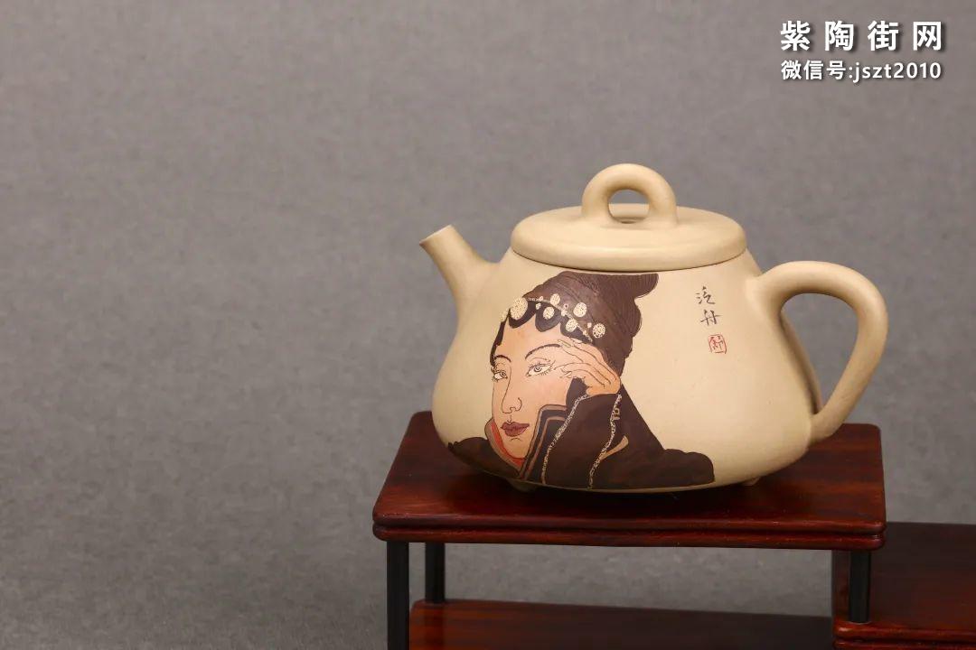 舒泛舟紫陶壶作品欣赏插图25