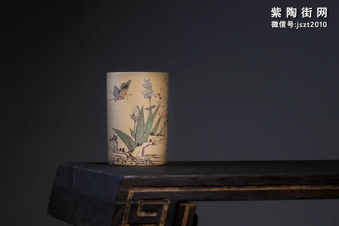 建水吴玉平简介及紫陶花瓶欣赏插图10