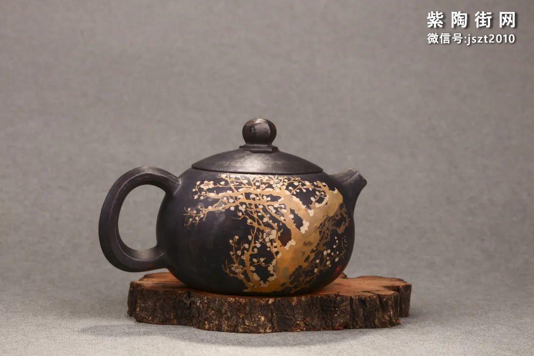 舒泛舟紫陶壶作品欣赏插图15
