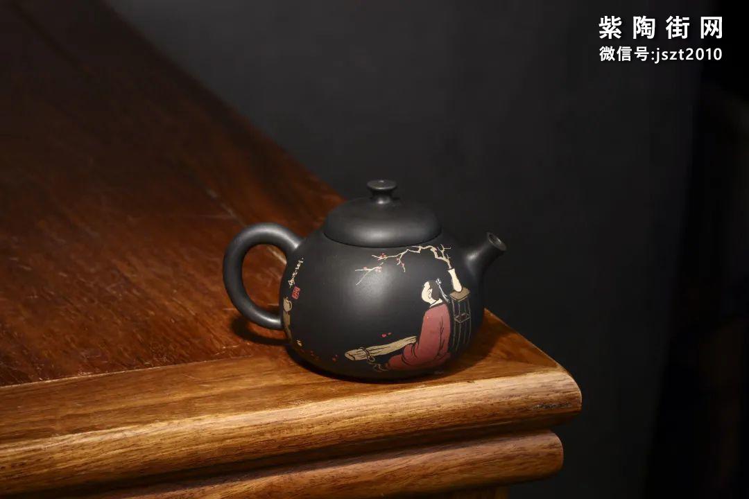 朱玄峰建水紫陶壶欣赏插图15