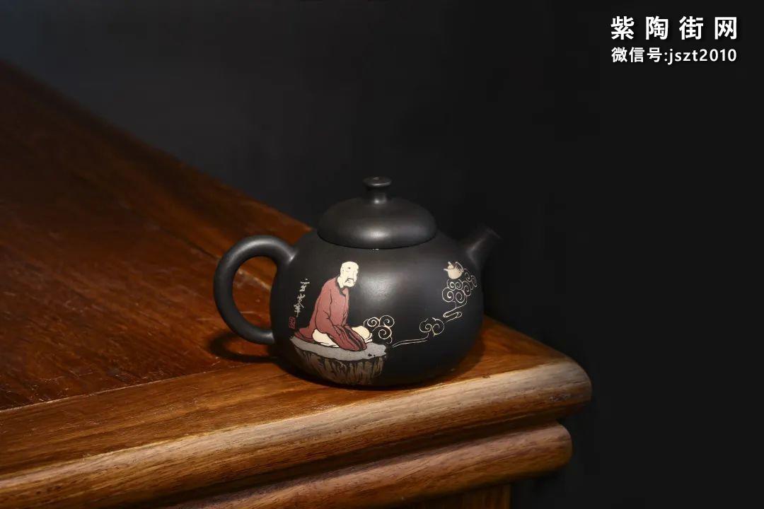 朱玄峰建水紫陶壶欣赏插图