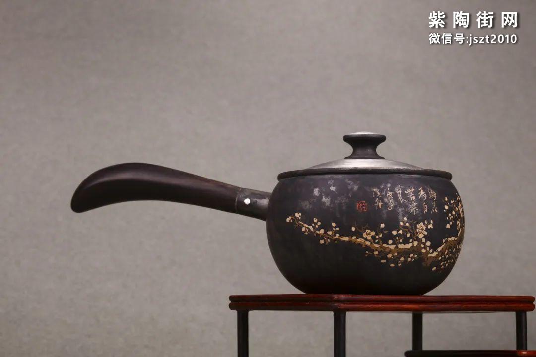 舒泛舟紫陶壶作品欣赏插图14