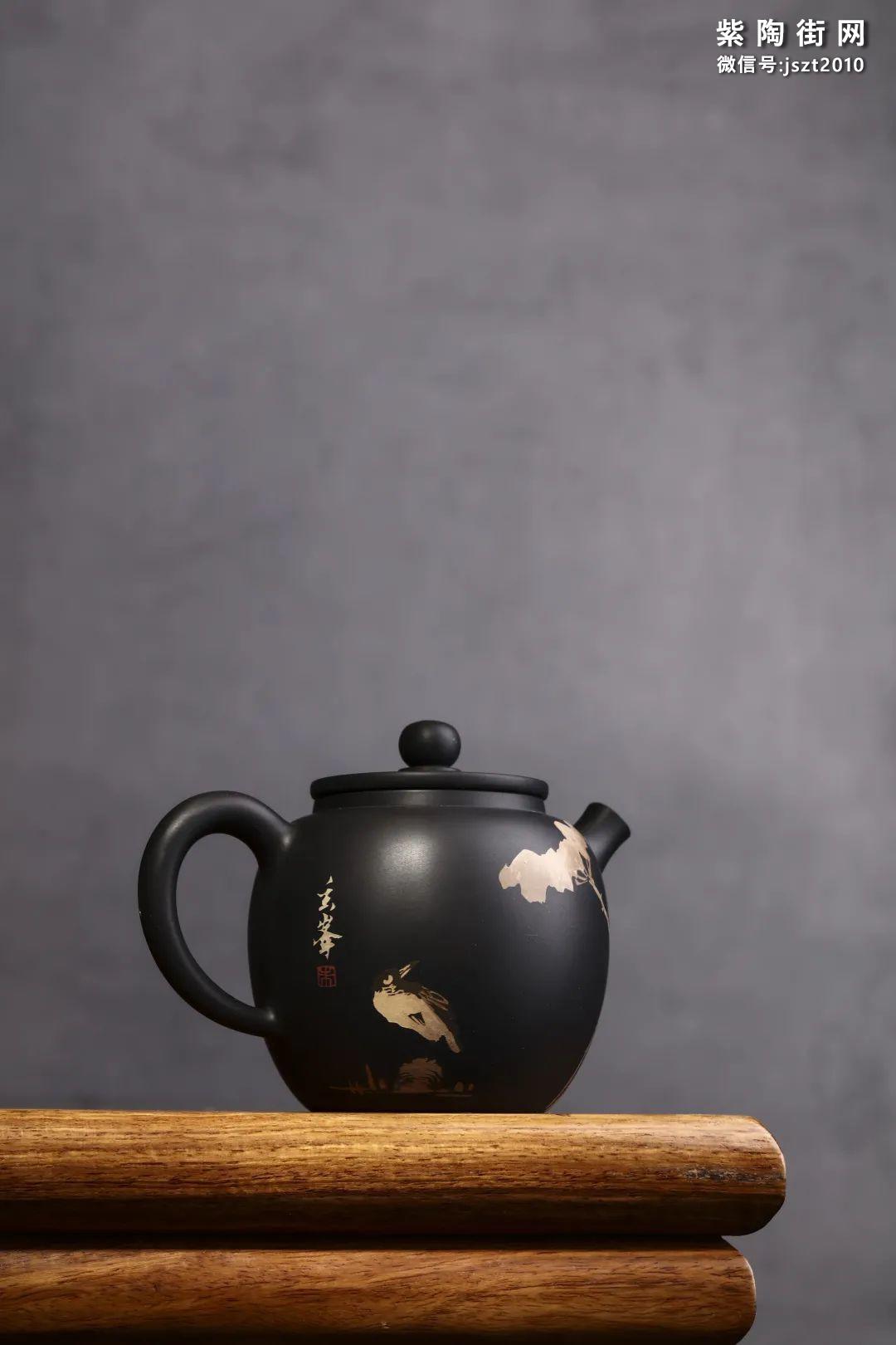 朱玄峰建水紫陶壶欣赏插图7