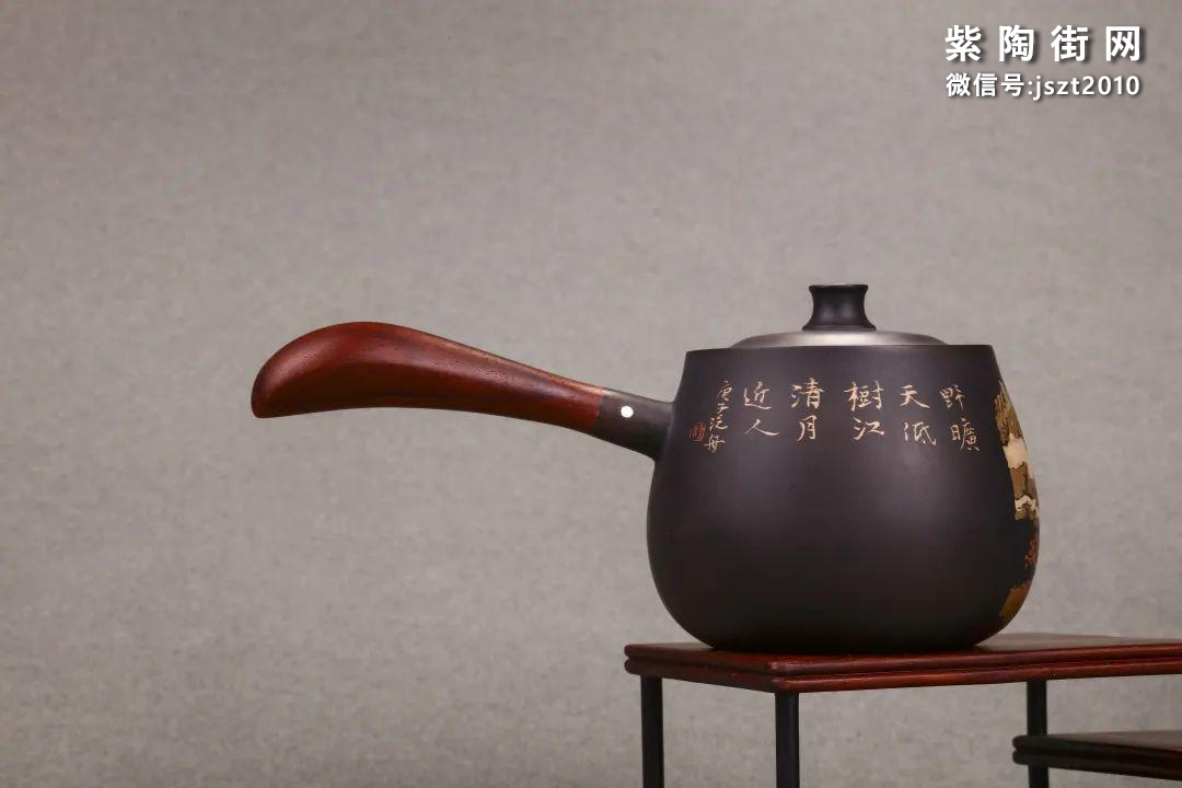 舒泛舟紫陶壶作品欣赏插图9