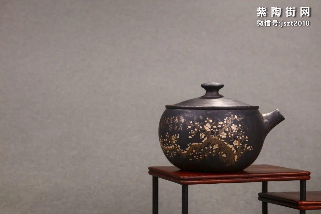 舒泛舟紫陶壶作品欣赏插图13
