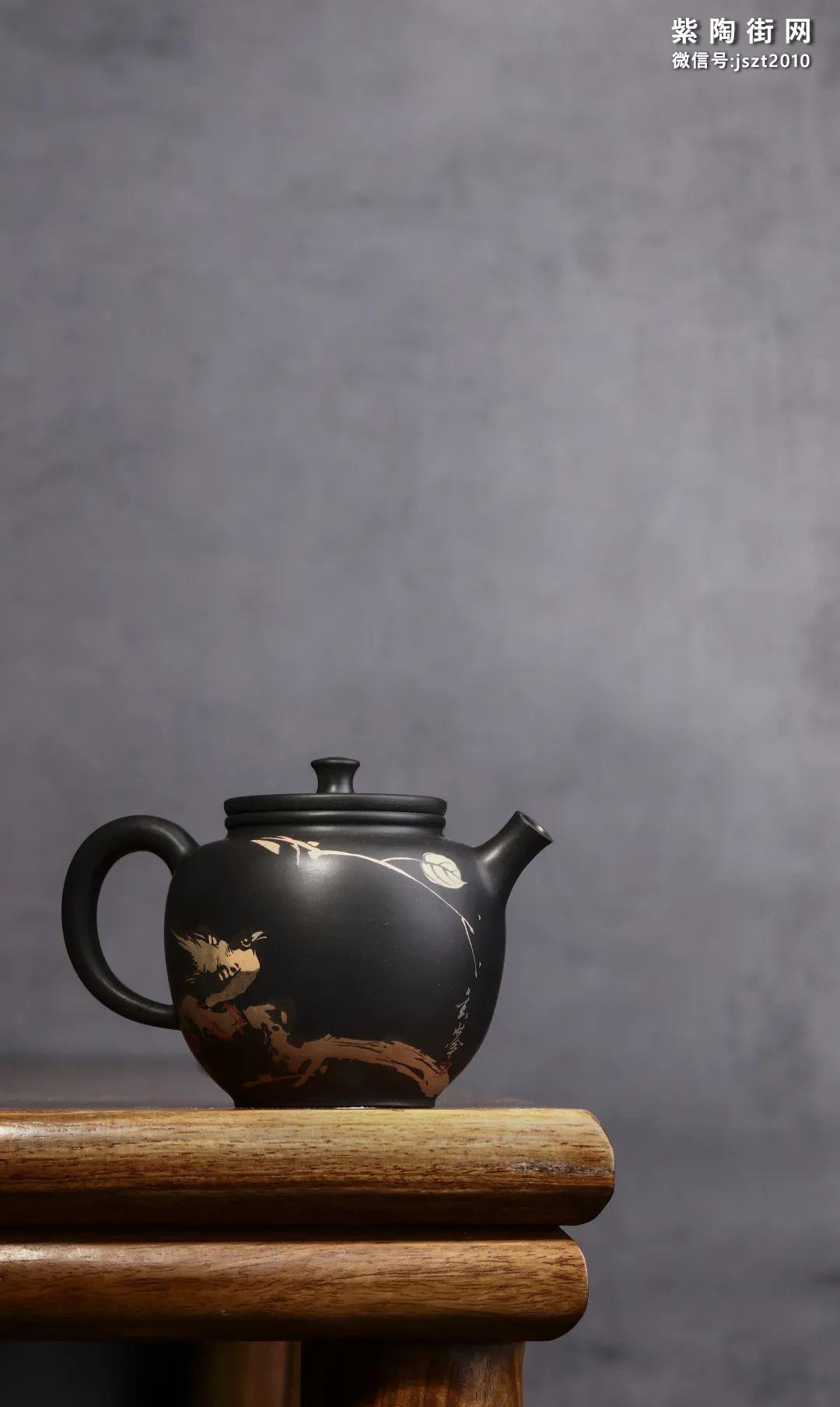 朱玄峰建水紫陶壶欣赏插图11