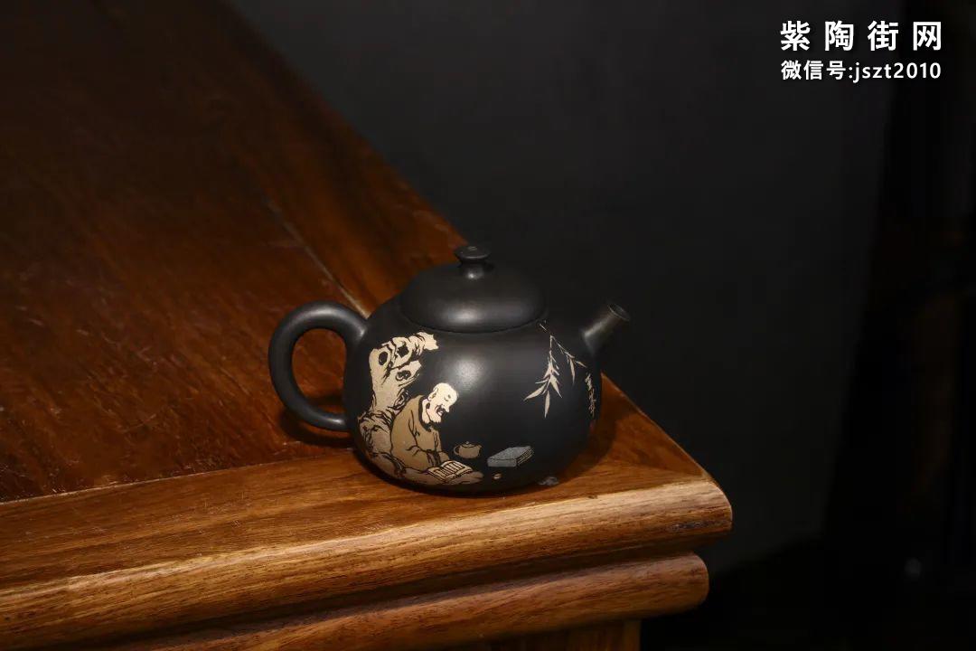 朱玄峰建水紫陶壶欣赏插图17